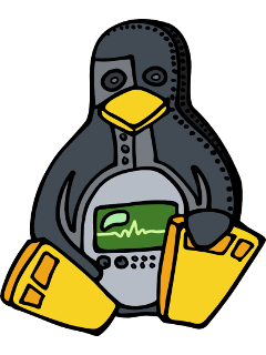 OHR logo - mechanical penguin
