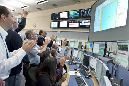 View of the CERN Control Centre