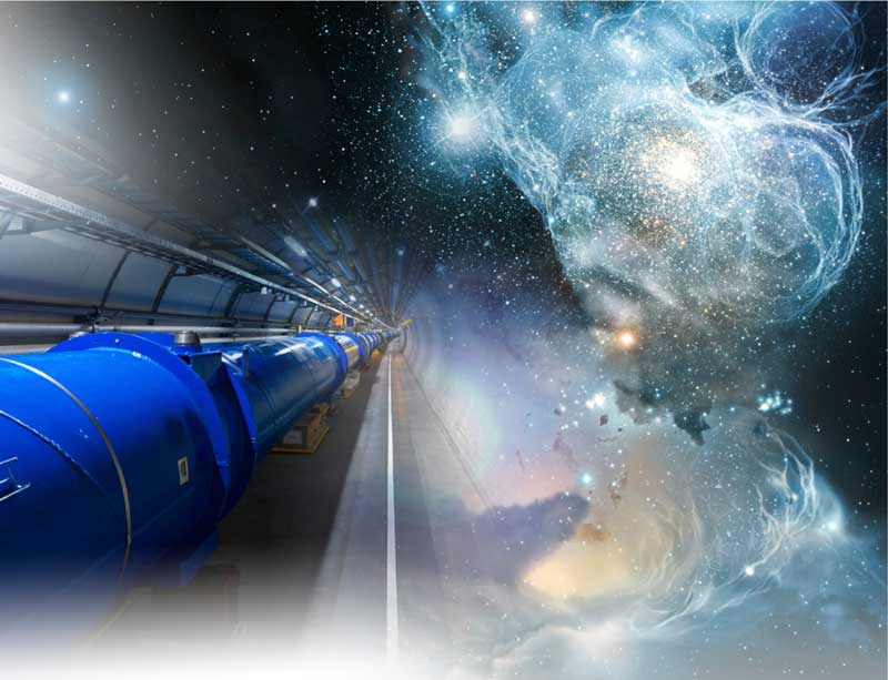 The LHC fuses with the stars